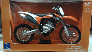 Miniatur Motor Trail KTM 350 SX-F