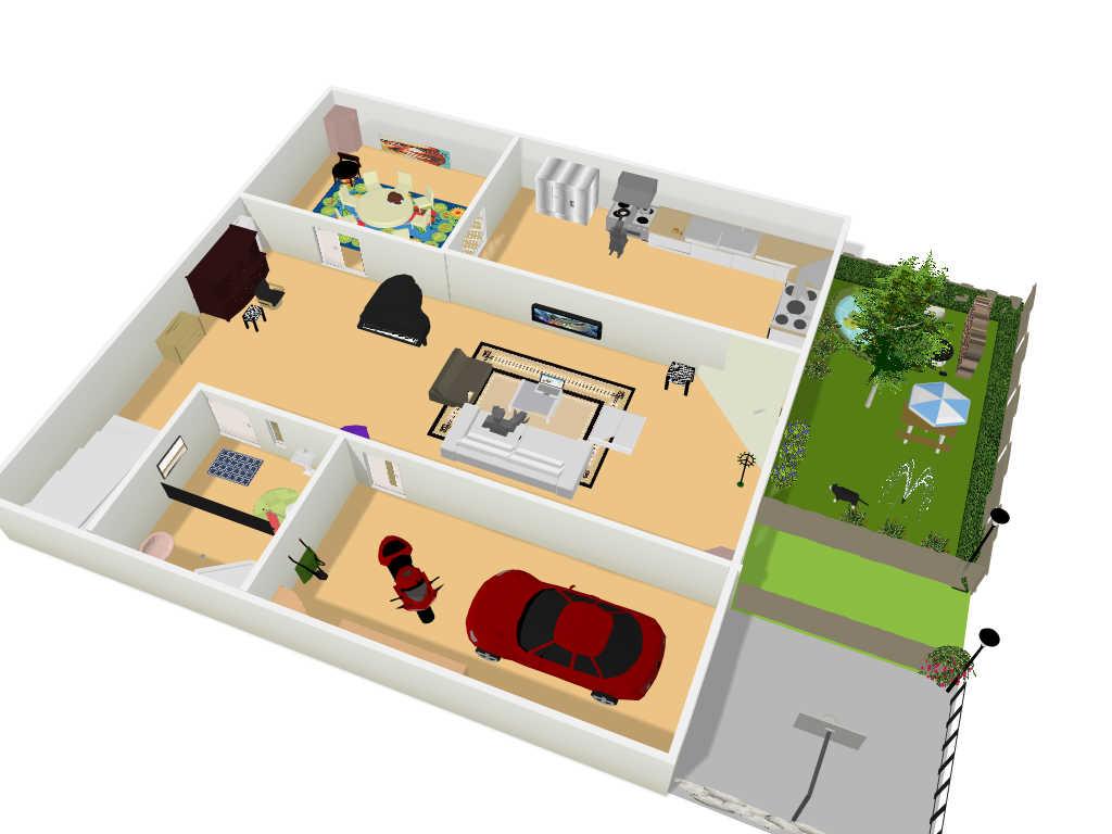 autocad: imagenes en floorplanner