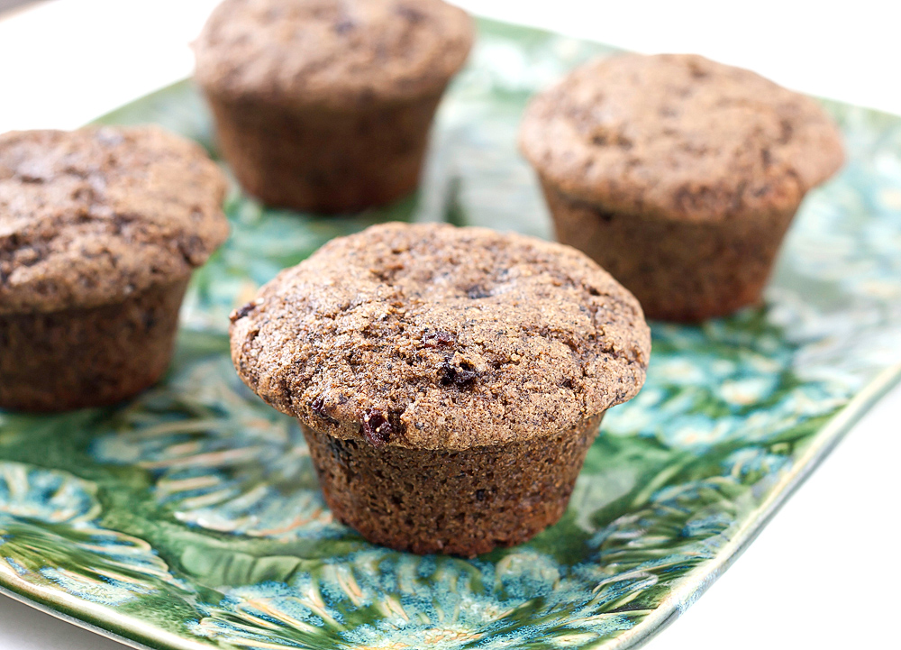 Muffin Tin Mania: Hemp Chai Chocolate Muffins