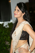 Anasuya sizzling photos in saree-thumbnail-1