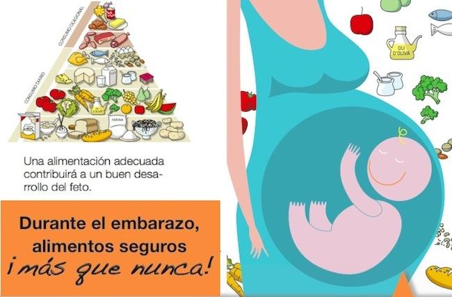 La alimentacion durante el embarazo - Alimentos saludables para embarazadas ...