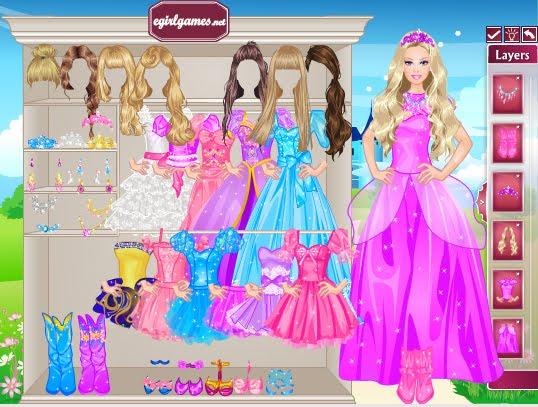 los juegos de barbie para jugar: