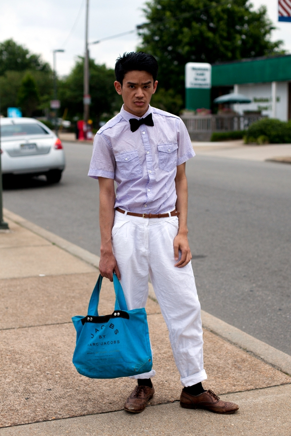 white pants with bowtie, richmond Street Style, Virginia Street Style, southern mens fashion