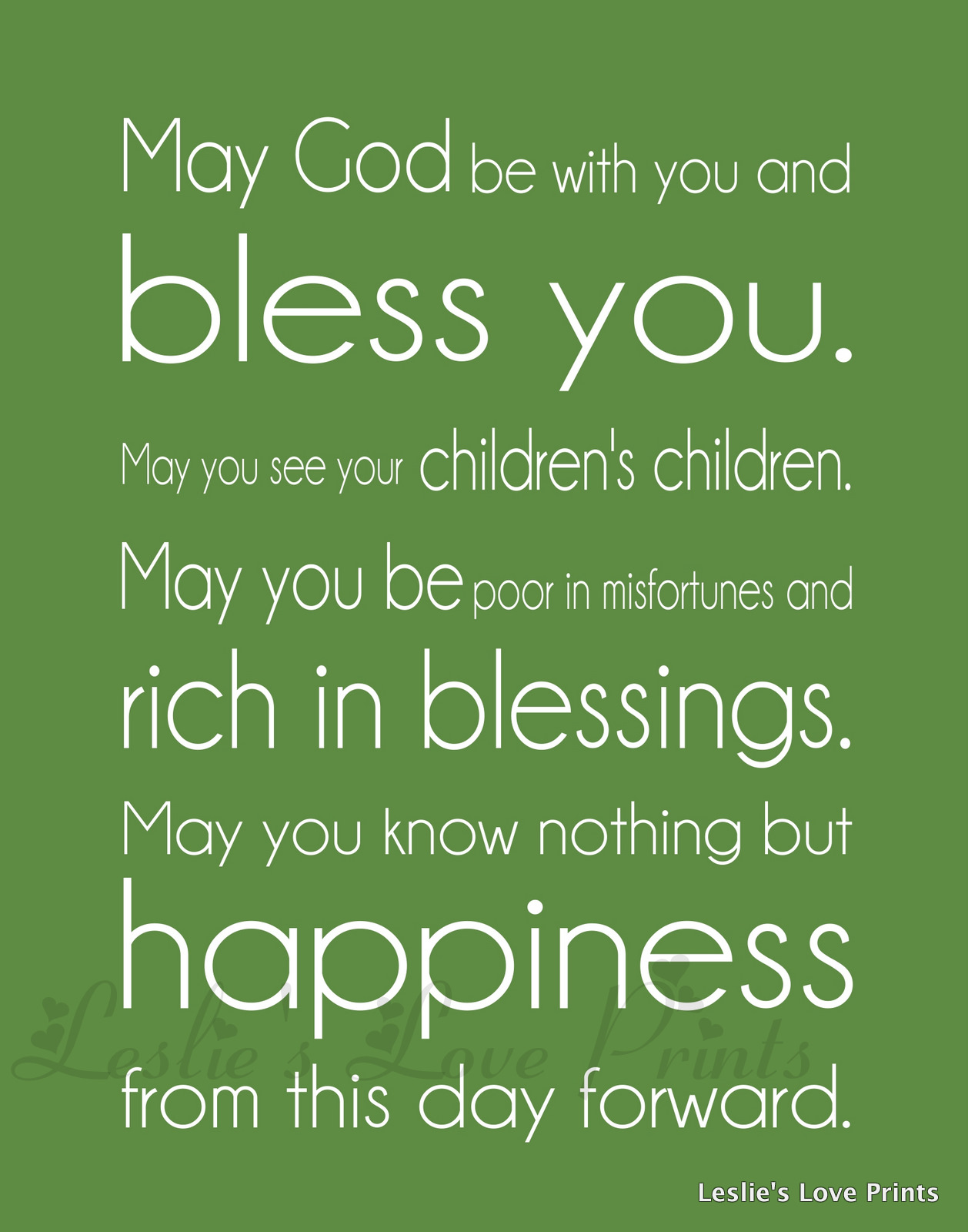 WEDDING BLESSINGS Quotes Like Success