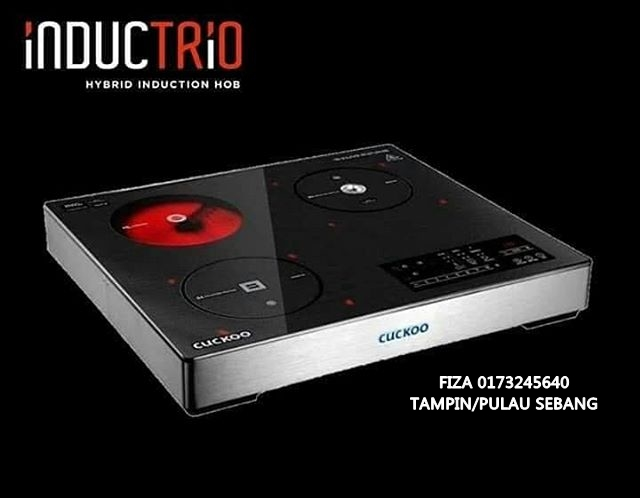 INDUCTRIO HYBRID INDUCTION HOB