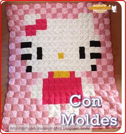 Delicadezas en crochet Gabriela: Manta de grannys \