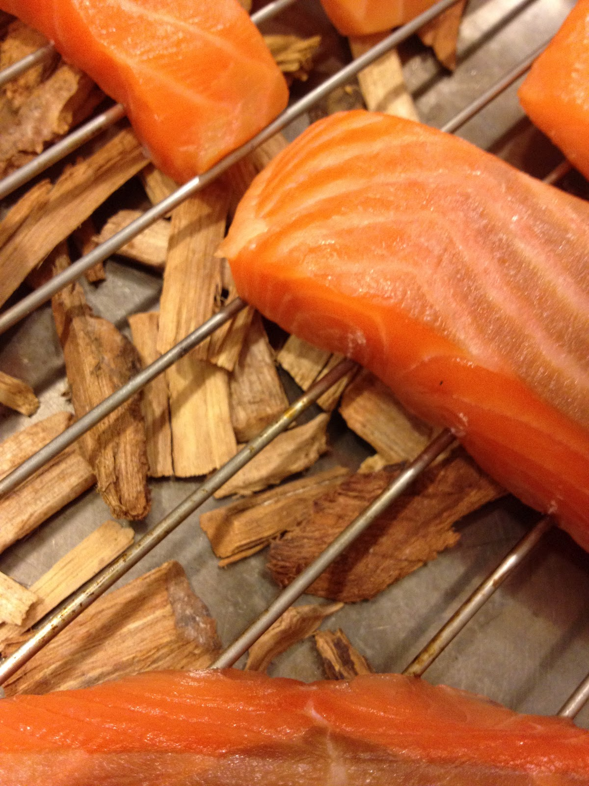 Best Wood Chips Smoking Salmon : Wood chips that give the smoke salmon is earthy smoked flavour