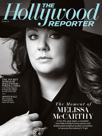 Funny Lady Melissa McCarthy Covers &quot;The Hollywood Reporter&quot;