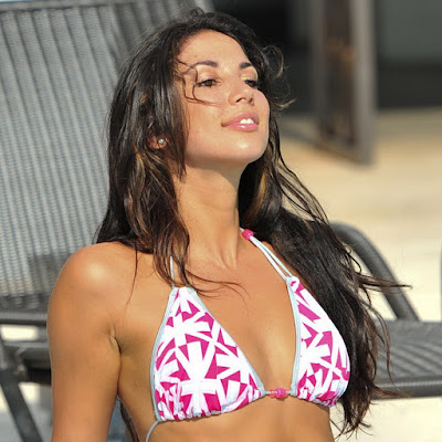 Leilani Dowding Hot Bikini in Miami