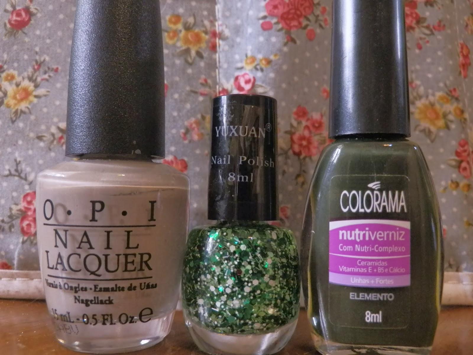 OPI_gris_colorama_tono_elemento_green_glitter