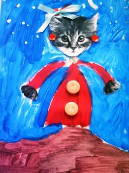 Gatinha,Julia 8 anos