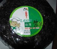 Chinese seaweed