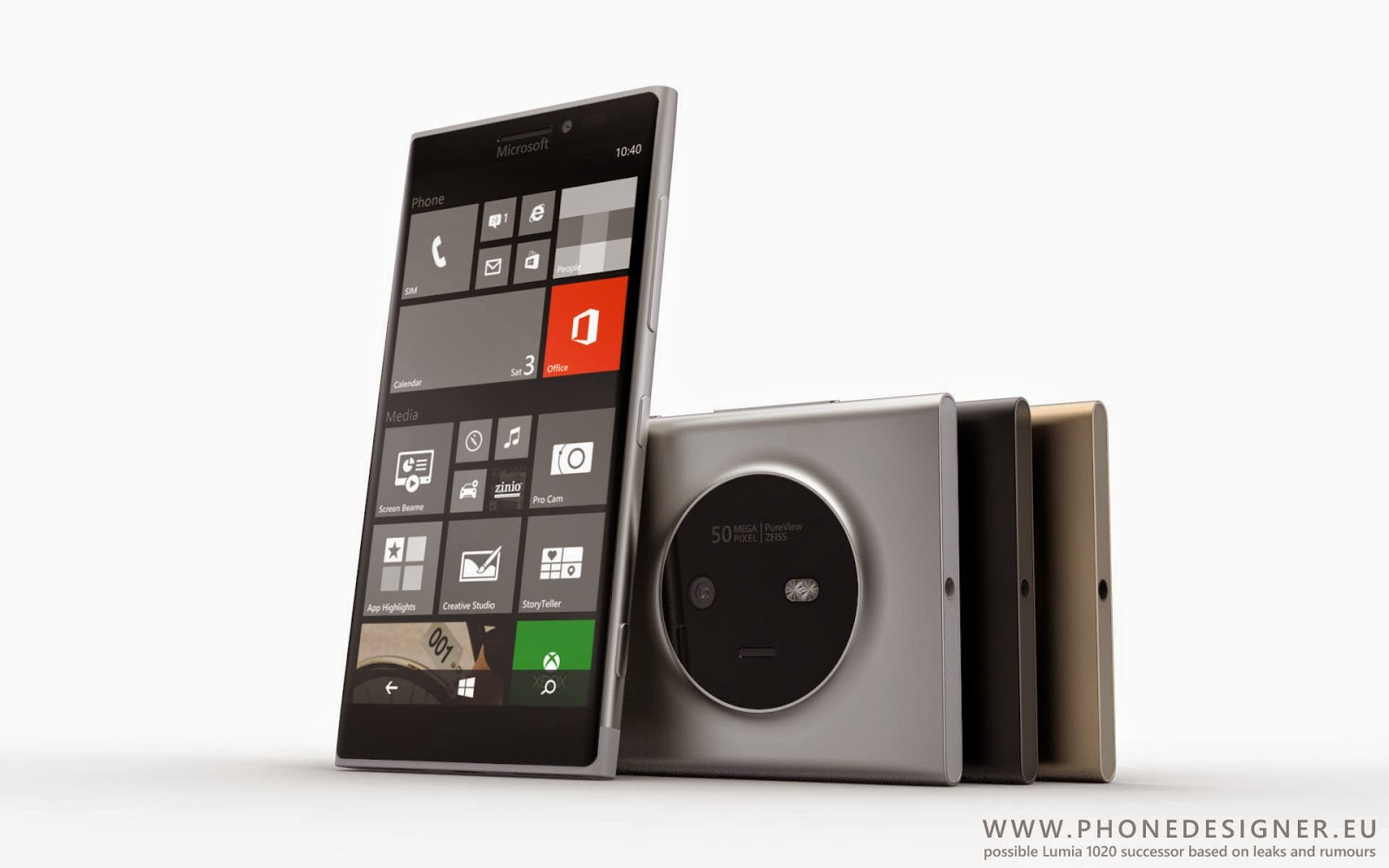Камерофон Lumia 1030. Концепт Йонаса Данерта