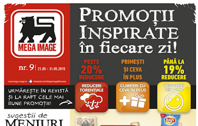 Catalog MEGA IMAGE Promotii Inspirate in Fiecare Zi