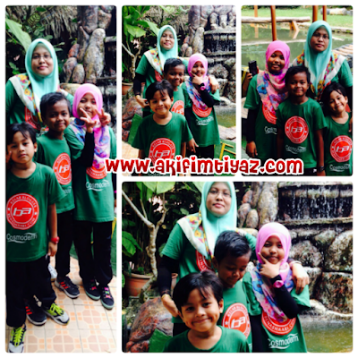 Percutian Indah Bersama Kelab Blogger Ben Ashaari