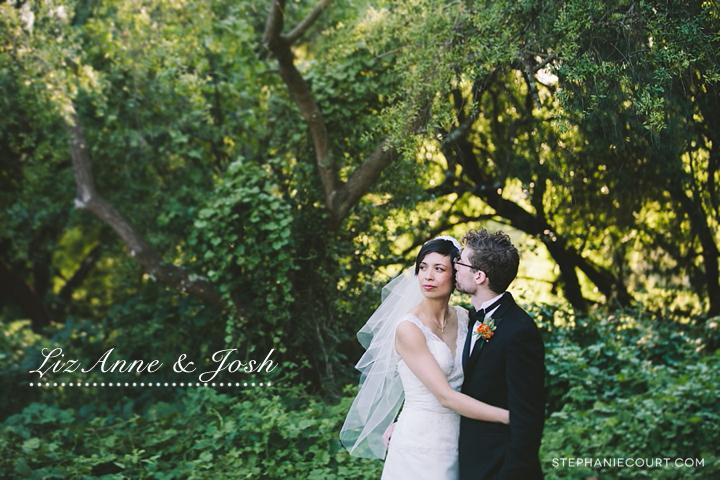 """wedding day photos at mountain lake park"""