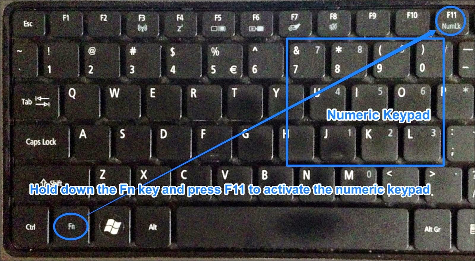 masalah keyboard mengetik huruf keluar angka