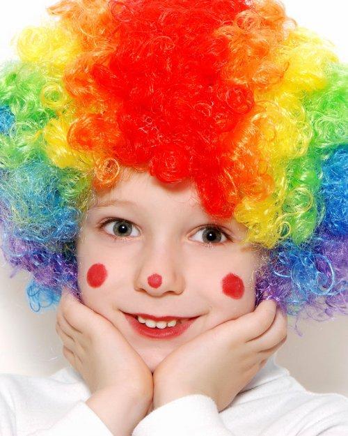 Mundo FiLi: Maquillaje de payasito para niños paso a paso