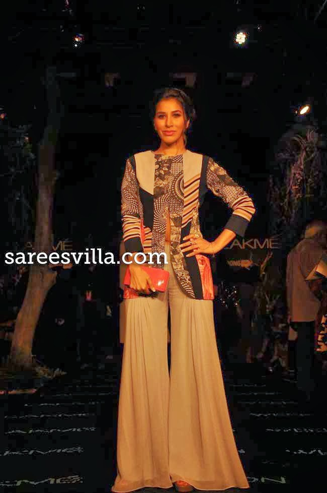 Sophie Chaudhary at Lakme Fashion Week Summer 2014