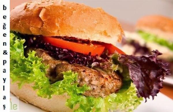 Diyet burger tarifi Yapımı