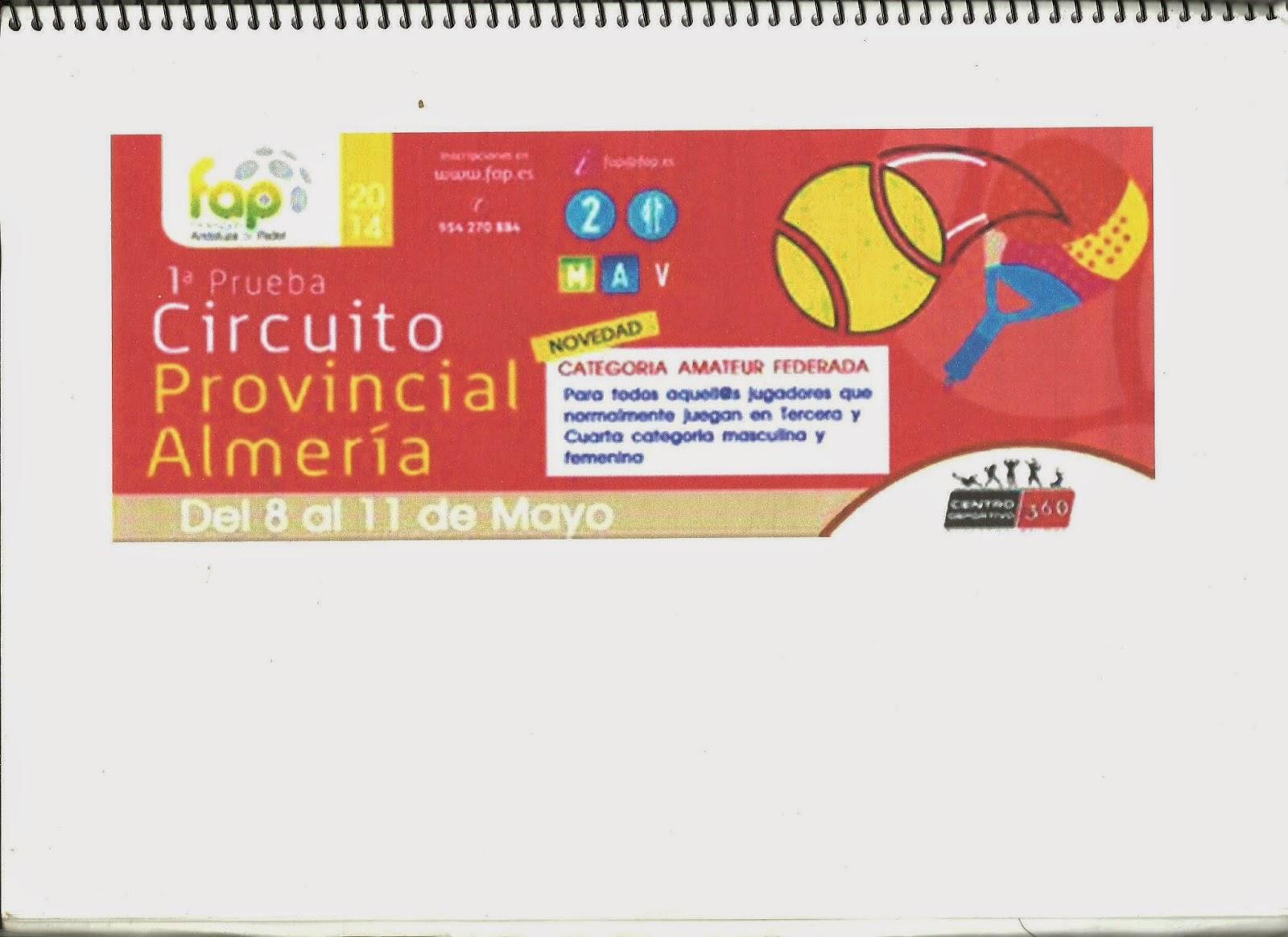 """Imagen de la portada del """"libro-guía"""" de la 1ª Prueba del Circuito Provincial"""