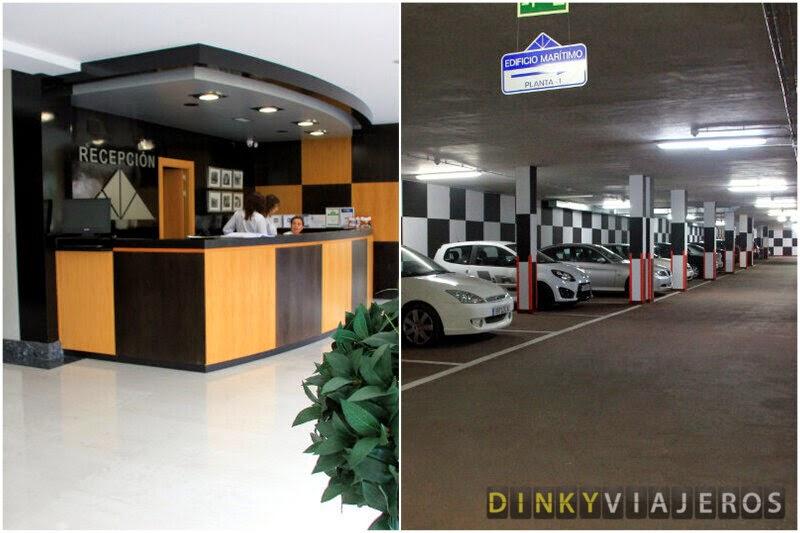 Hotel Marítimo Ris. Recepción y Parking