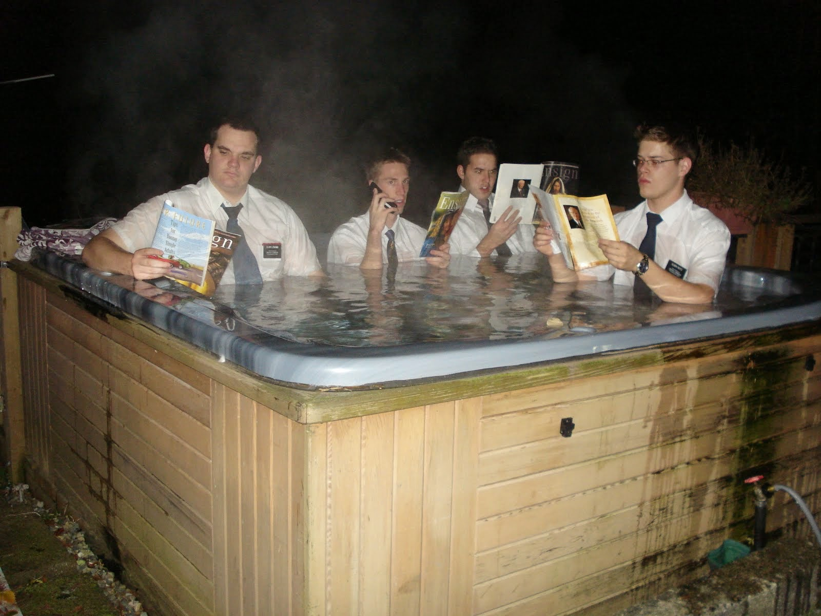 And that's how you hottub