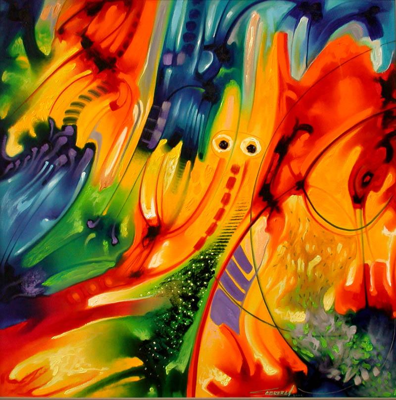 Pinturas abstractas modernas car interior design - Decorarte pinturas ...