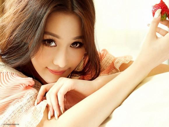 Girls Beauty Wallpaper Zhang Xinyu 40