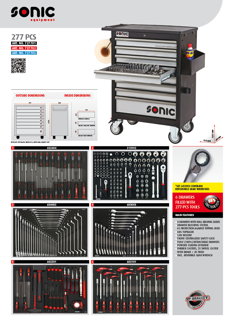 sonic equipment españa