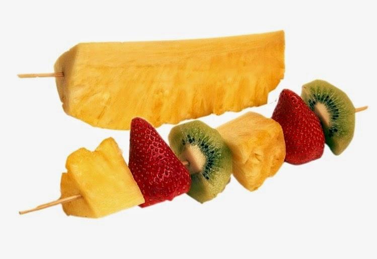 Como preparar Frutas para ascada de chocolate