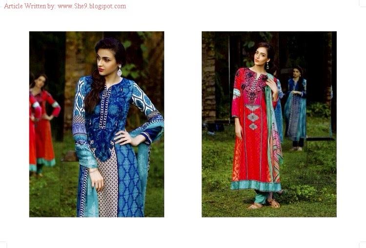 Mariab Pashmina for Winter-Fall 2014-15