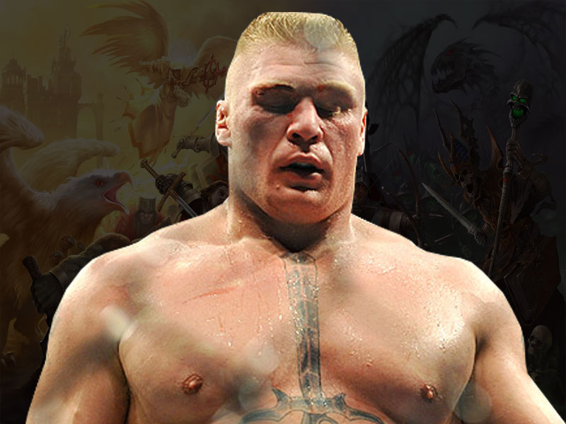 Brock Lesnar Latest Wallpapers 2012