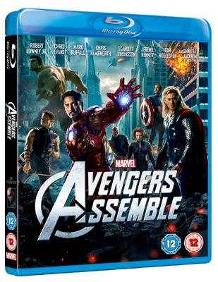 Avengers Assemble Blu-ray