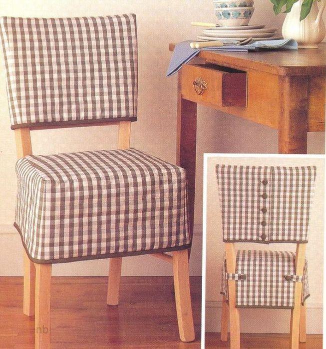 Чехол для стульев фото своими руками