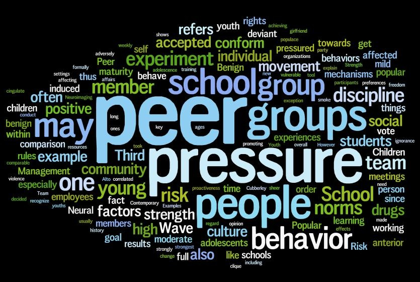 positive effects of peer pressure essay In conclusion, it is my fervent hope that teachers and parents become aware of the situation and advise the students about the ill effects of peer pressure i would like to see parents and teachers take a more active part in the students' lives and reward them for good behavior.