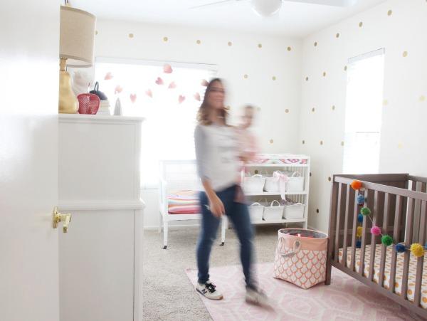 Girls Bright and Cheery Nursery