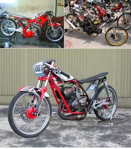 Modifikasi motor drag