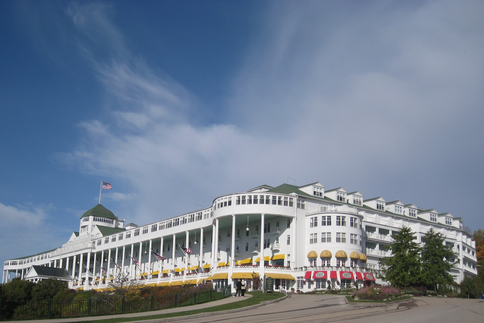 mackinac island Michigan's first state park this is mackinac mackinac island state park was established in 1895 for twenty years before that it had been mackinac national park.