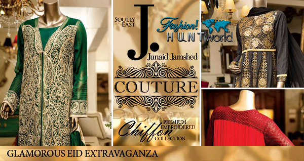 Junaid Jamshed Couture Eid 2015