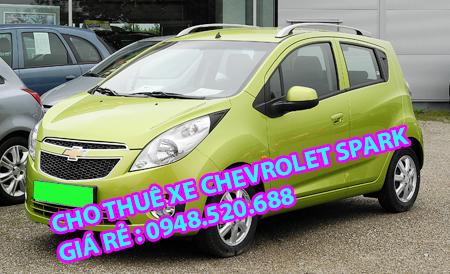 cho thuê xe chevrolet spark 2 giá tốt