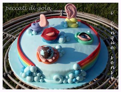 torta cinque sensi