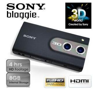 3D-Camcorder Sony Bloggie MHS-FS3 bei iBood für 135,90 Euro inklusive Versandkosten