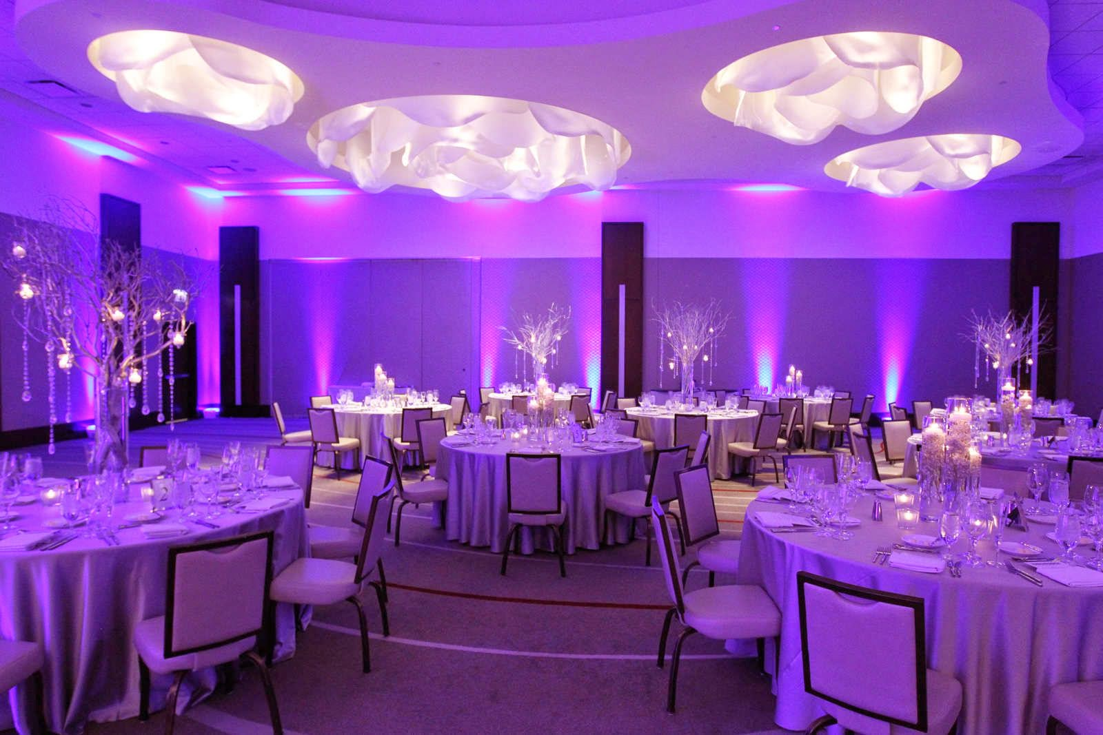 Purple Wedding Reception Decorations Wedding Decor Ideas