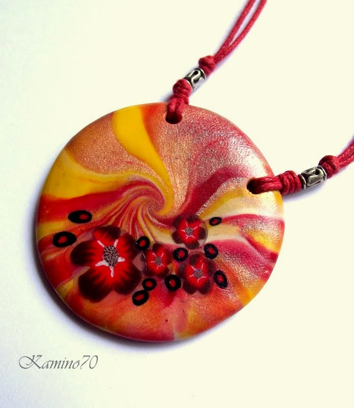 polymer clay, biżuteria z modeliny