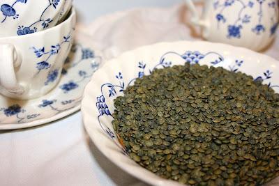 lentils du Puy uncooked