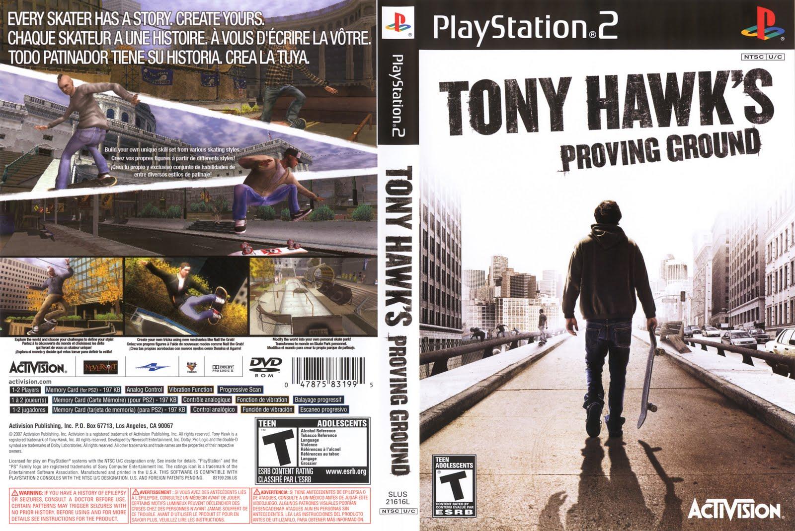 Tony Hawk's Proving Ground   PS2