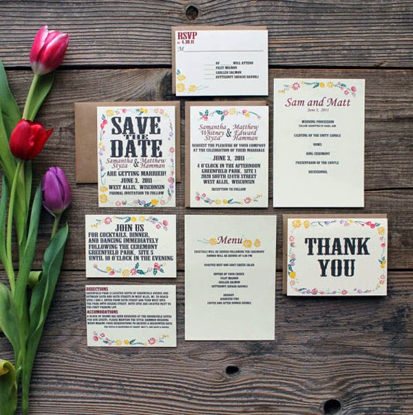 wedding invitation samples - Affordable Wedding Invites