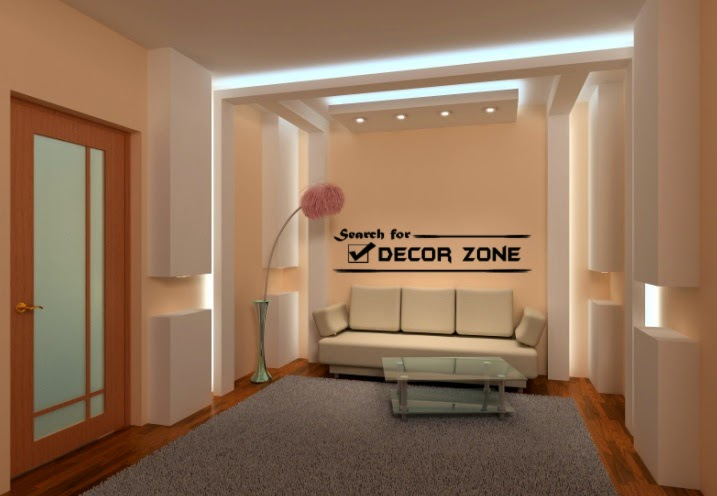 Gypsum Board Designs For Ceiling And Wall Lights For Living Room Part 77