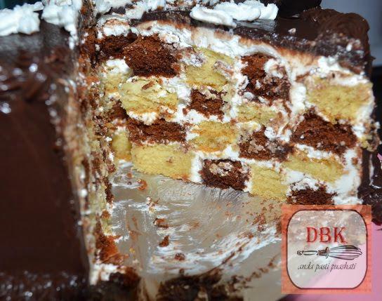 Checkered Cake aka Kek Dam